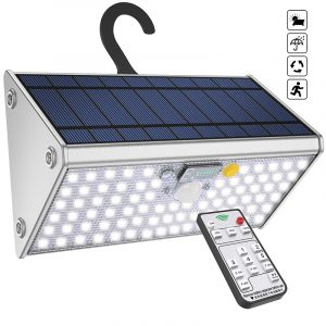 Solar Security Light, Solar Motion Light Outdoor Aluminum