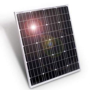 80W Mono Solar Panel 12V, solar module manufacturing
